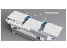 Wide Table Base & Y-Axis Twin Ball Screws