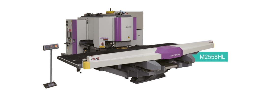 Laser Punch Combination Machine -M2558HL