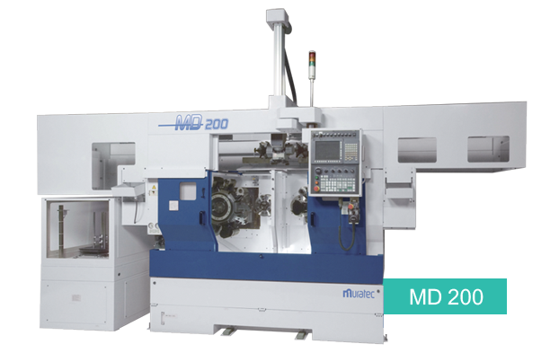 MD-200 CNC Turning Center with Live Tools