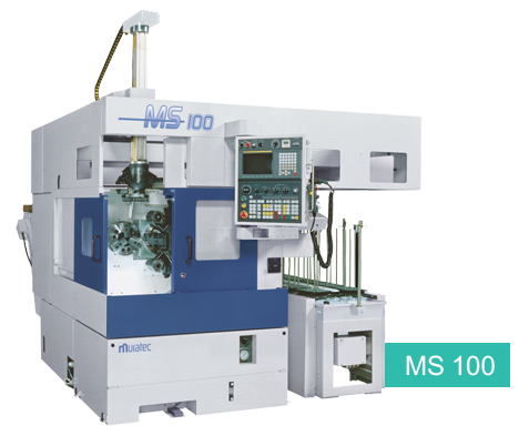 MS100 Single Spindle CNC Chucker
