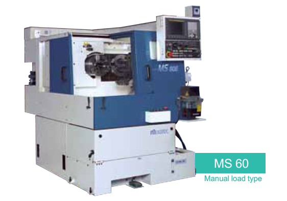 MS-60 Manual Load - Spindle CNC Chucker