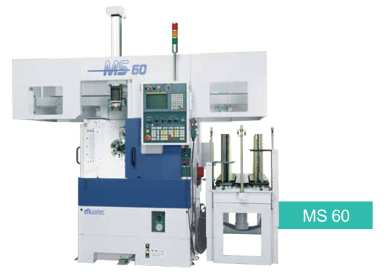 MS-60 Single Loader - Spindle CNC Chuckerr