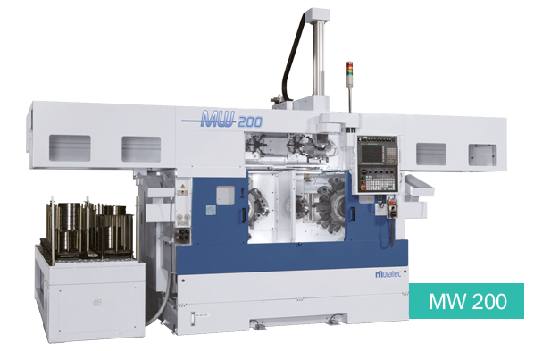 MW200 TWIN Spindle CNC Chucker